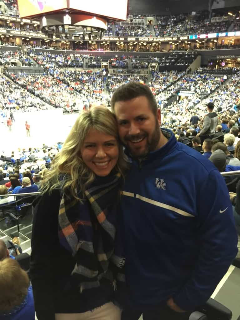 We had the opportunity to go to see our Kentucky Wildcats play in the Barclays Center in Brooklyn.