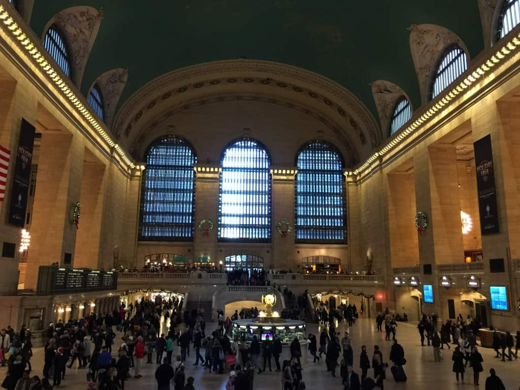 We took the subway several times and passed through Grand Central Station on several occasions. It's an architectural marvel indeed!