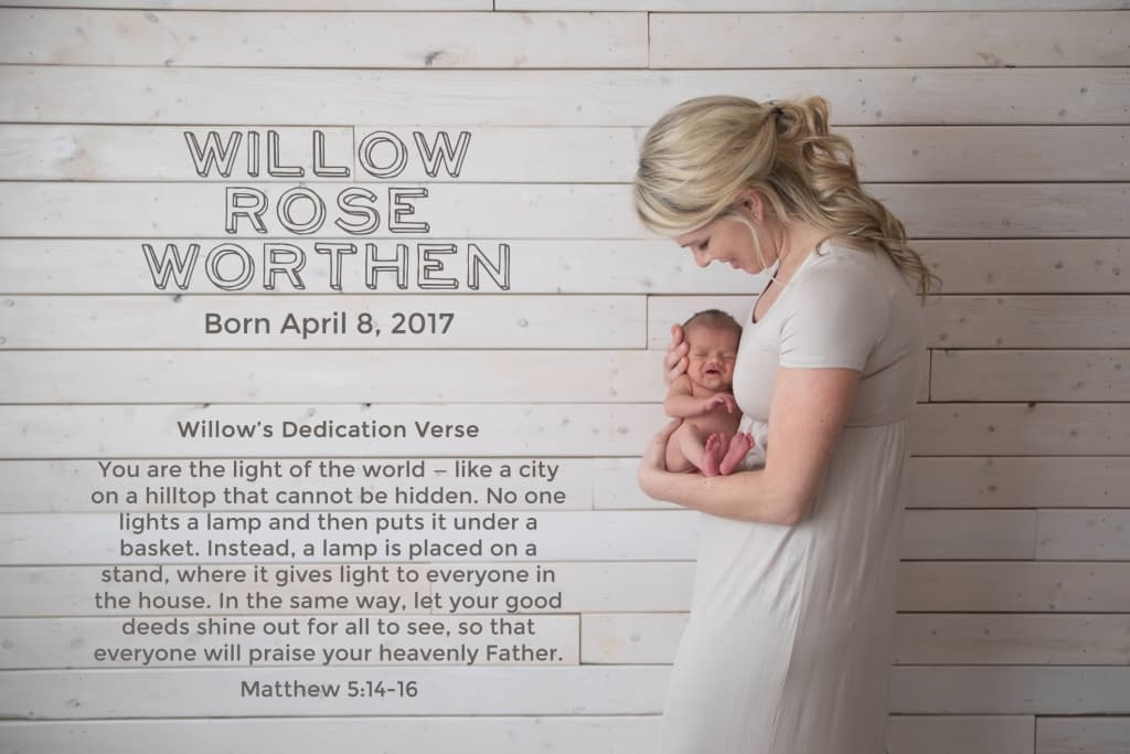Meet Willow Rose Worthen